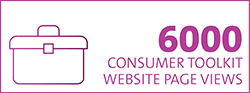 Consumer toolkit pageviews